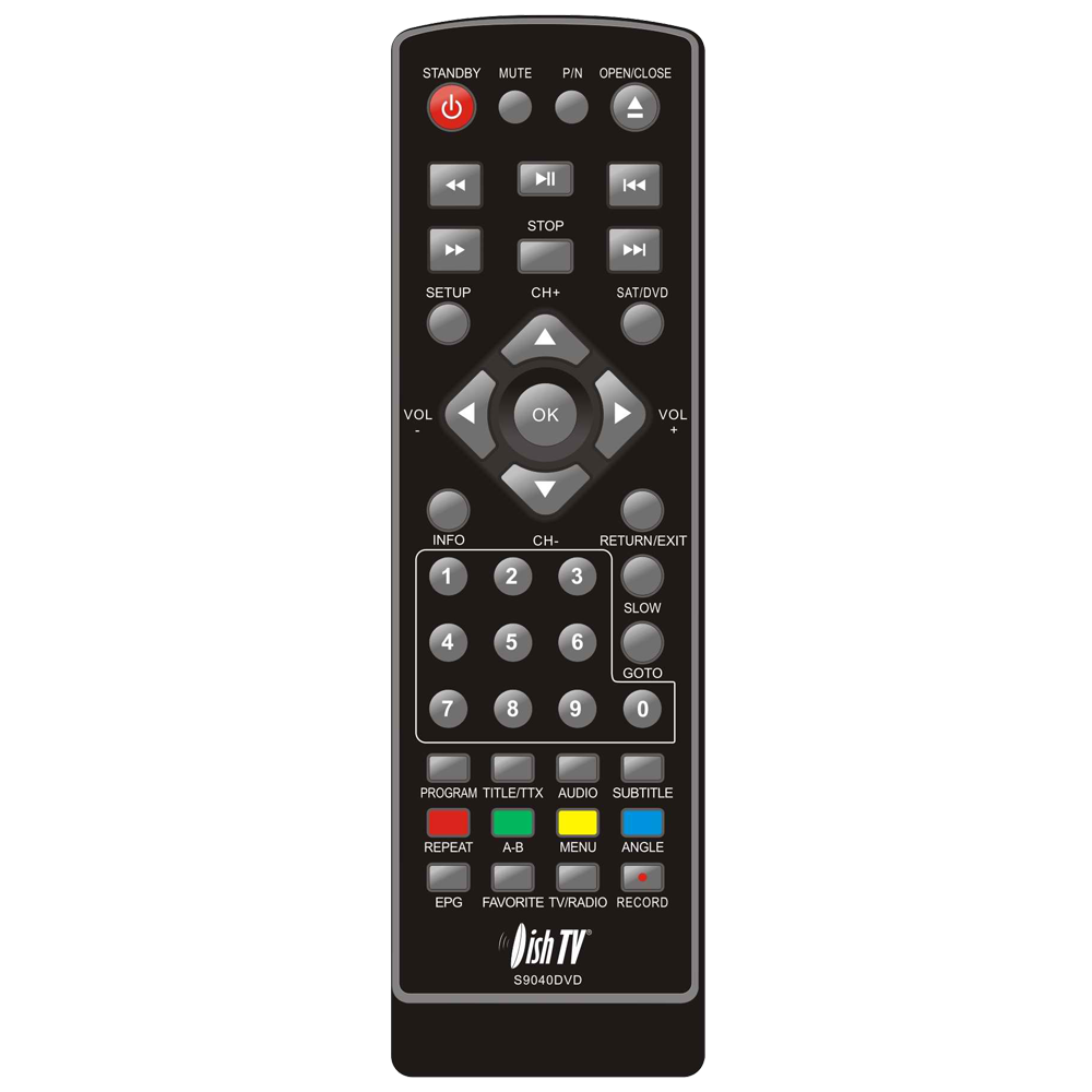 Remote Control for Dish TV S9040DVD
