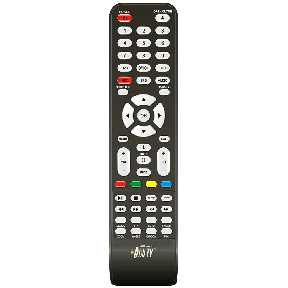 Remote Control for DishTV T5050