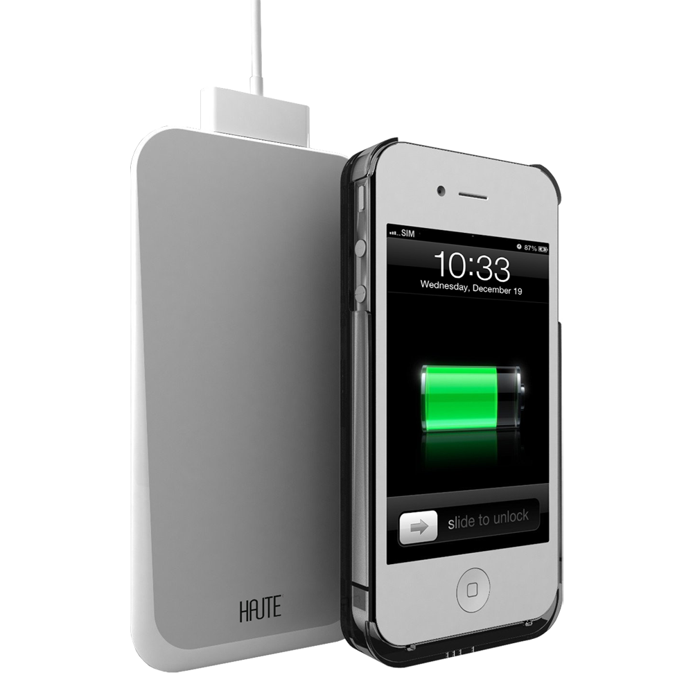 iPhone 4/4S Wireless Charger - White