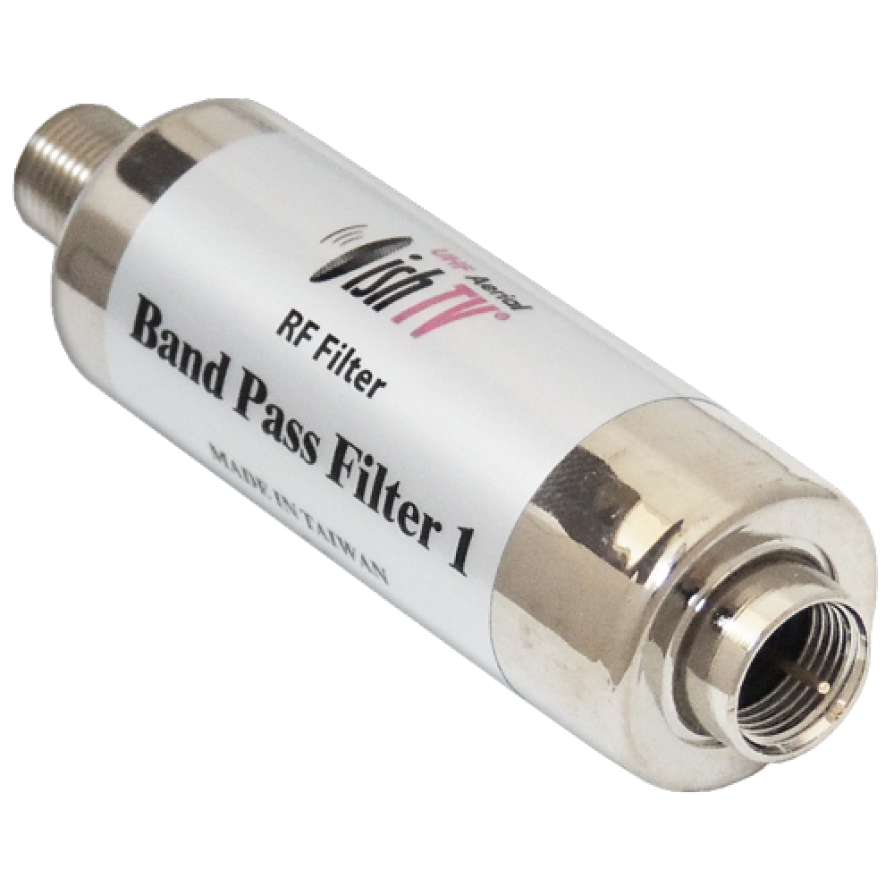 UHF Band Pass Filter F con