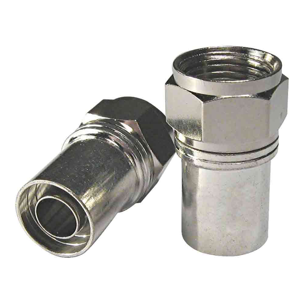RG6 Radial Crimp F Connector x10