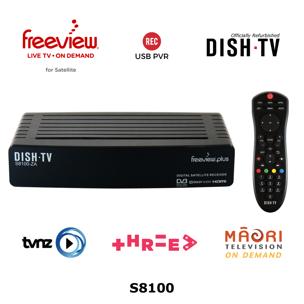 Freeview On Demand Satellite Receiver  Dish TV S8100 (Refurbished)