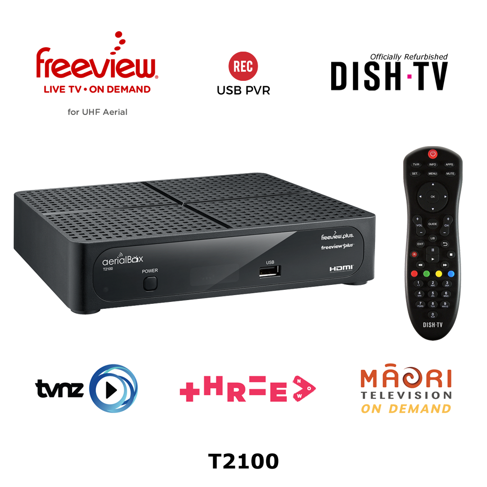 FreeviewPlus HD UHF Receiver T2100 (Refurbished)