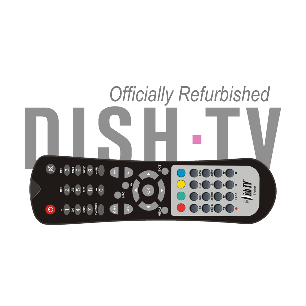 Refurbished Remote Control for DishTV S7070RHD-X*