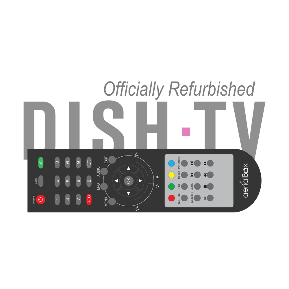 Refurbished Remote Control for DishTV T1000N