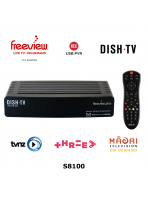 Freeview Satellite Receiver with On Demand and USB Record - S8100