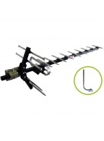 Freeview Antenna 13 Element High Gain UHF Aerial with Mount